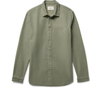 Rivet Slub Cotton Overshirt