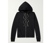 + Champion Jason's Logo-Embroidered Loopback Cotton-Jersey Zip-Up Hoodie