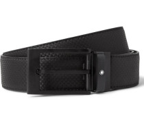 3cm Extreme Textured-leather Belt