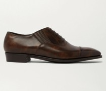 Bodie II Bourbon Leather Oxford Shoes