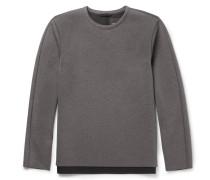 Panelled Scuba-jersey Sweatshirt
