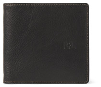 Textured-leather Billfold Wallet
