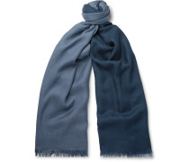 Duo Cashmere And Silk-blend Scarf