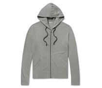 Supima Cotton-Jersey Hoodie
