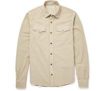 Slim-fit Cotton-corduroy Shirt