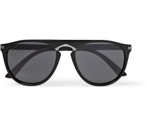 Signature C De Cartier Round-frame Acetate Sunglasses