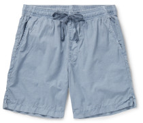 Easy Slim-Fit Cotton-Poplin Drawstring Shorts