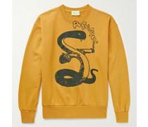 Killa Snake Printed Cotton-Jersey Sweatshirt