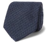 8cm Textured Wool and Silk-Blend Tie