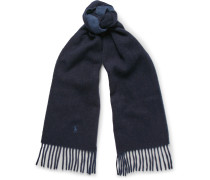 Two-tone Wool-blend Scarf
