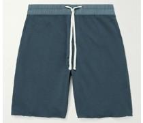 Supima Cotton-Jersey Drawstring Shorts