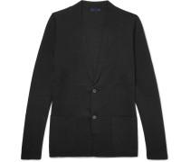 Wool And Silk-blend Cardigan
