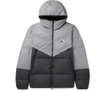 Windrunner Reflective Quilted Shell Hooded Jacket