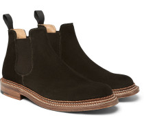 Christopher Triple-welted Suede Chelsea Boots