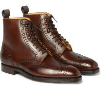 Bryan Leather Brogue Boots