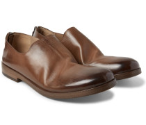 Washed-leather Loafers