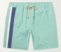 Beacon Mid-Length Printed Swim Shorts