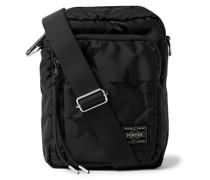 Star-Print Nylon Messenger Bag