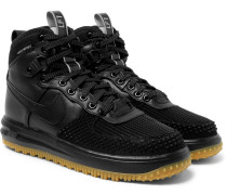 Lunar Force 1 Duckboot Leather And Rubber Sneakers