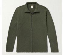 Rafael Slim-Fit Cotton and Cashmere-Blend Zip-Up Sweater