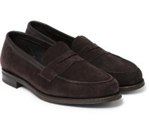 Duke Suede Penny Loafers