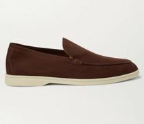 Summer Walk Nubuck Loafers