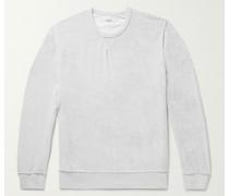 Cotton-Blend Terry Sweatshirt