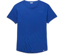 Ob-t Slim-fit Cotton-jersey T-shirt