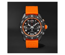 Endurance Pro SuperQuartz Chronograph 44mm Breitlight and Rubber Watch, Ref. No. X82310A51B1S1