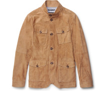 Slim-fit Nappa Suede Field Jacket