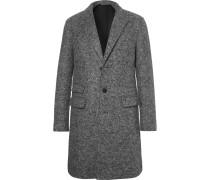 Slim-fit Virgin Wool-blend Bouclé Coat