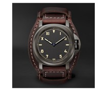Luminor California 8 Days DLC Hand-Wound 44mm Titanium and Leather Watch