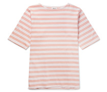 Nimes Striped Cotton-jersey T-shirt