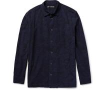 Textured-cotton Shirt
