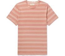 Conduit Striped Cotton-jersey T-shirt