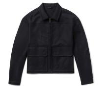 Stretch-cotton Canvas Jacket