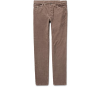 Stretch-cotton Corduroy Trousers