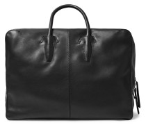 Blackout Leather Holdall