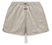 Iridescent Twill Shorts