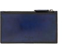Koa Polished-leather Zipped Cardholder