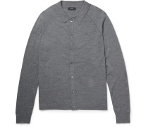 Berner Slim-fit Wool Polo Shirt