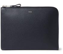 Full-grain Leather Zip-around Portfolio