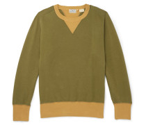 1930s Bay Meadows Garment-dyed Cotton-jersey Sweatshirt
