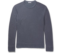 Mélange Loopback Supima Cotton-jersey Sweatshirt