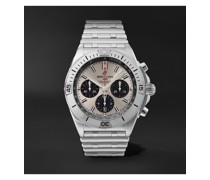 Chronomat B01 Automatic Chronograph 42mm Stainless Steel Watch, Ref. No. AB0134101G1A1