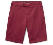 Stretch-cotton Twill Shorts