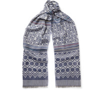 Printed Voile Scarf