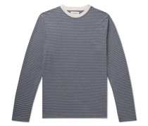 Striped Organic Cotton-Jersey T-Shirt