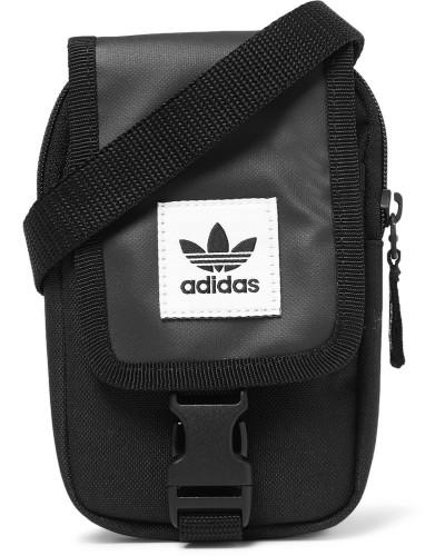 Map Canvas Camera Bag - Black