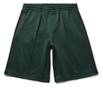 Striped Tech-jersey Shorts